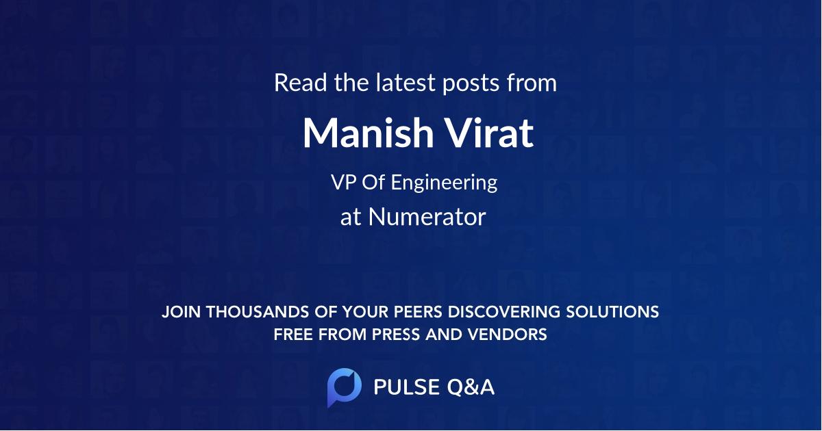 Manish Virat