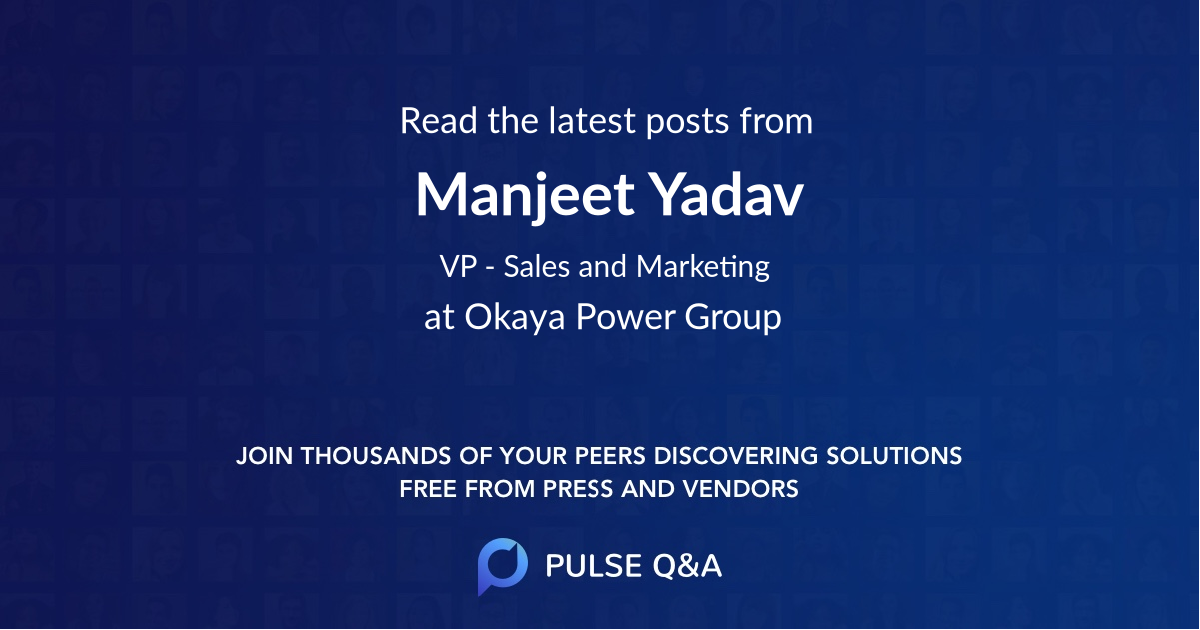 Manjeet Yadav