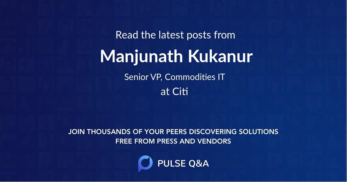 Manjunath Kukanur