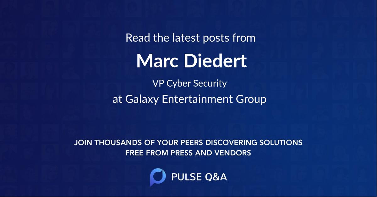Marc Diedert
