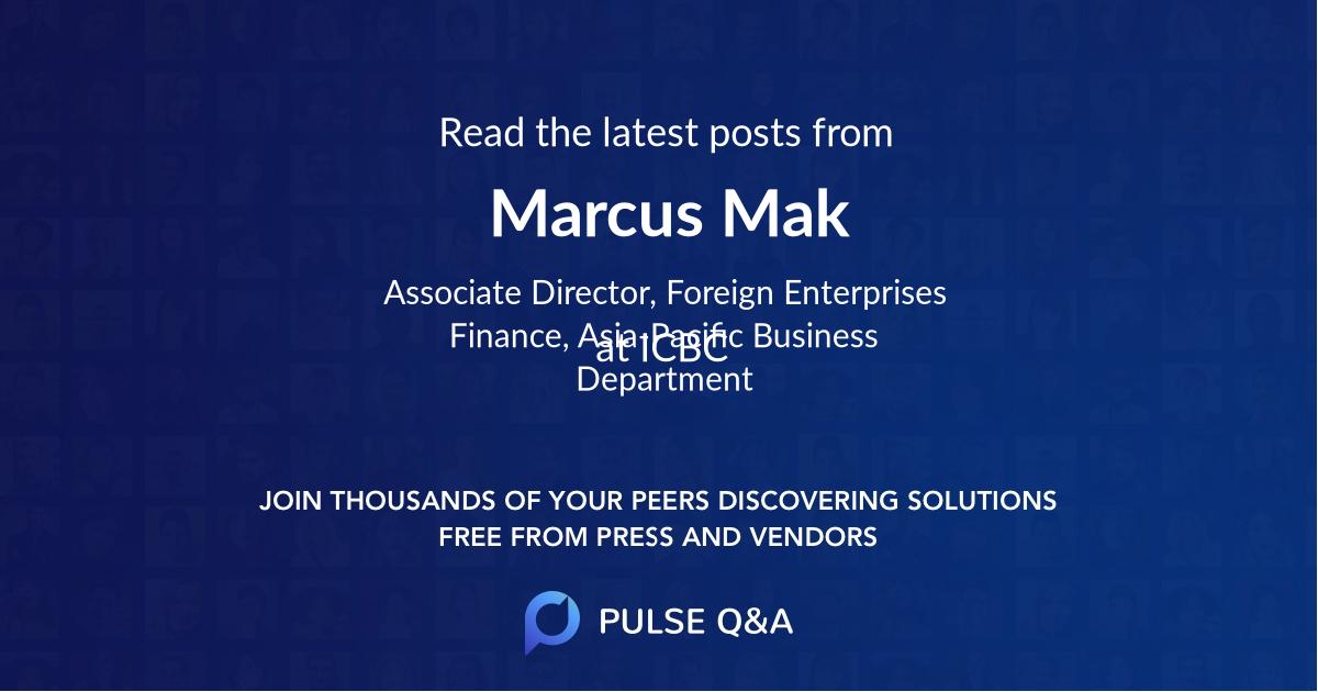 Marcus Mak