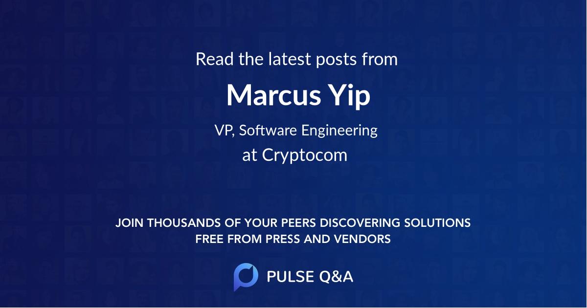 Marcus Yip