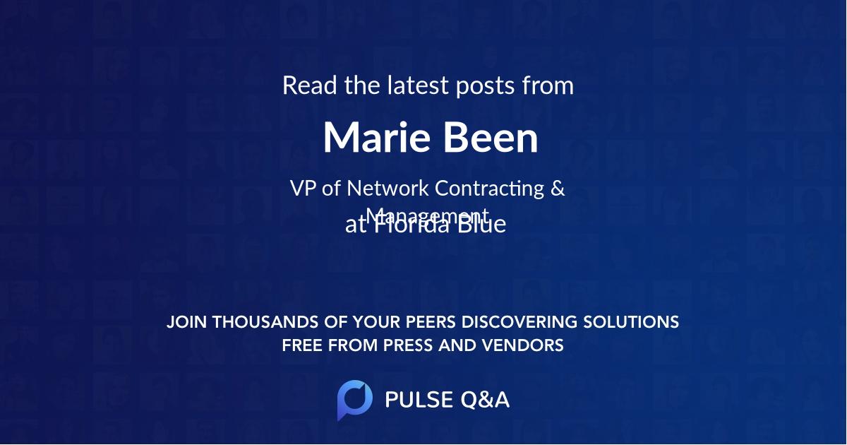 Marie Been