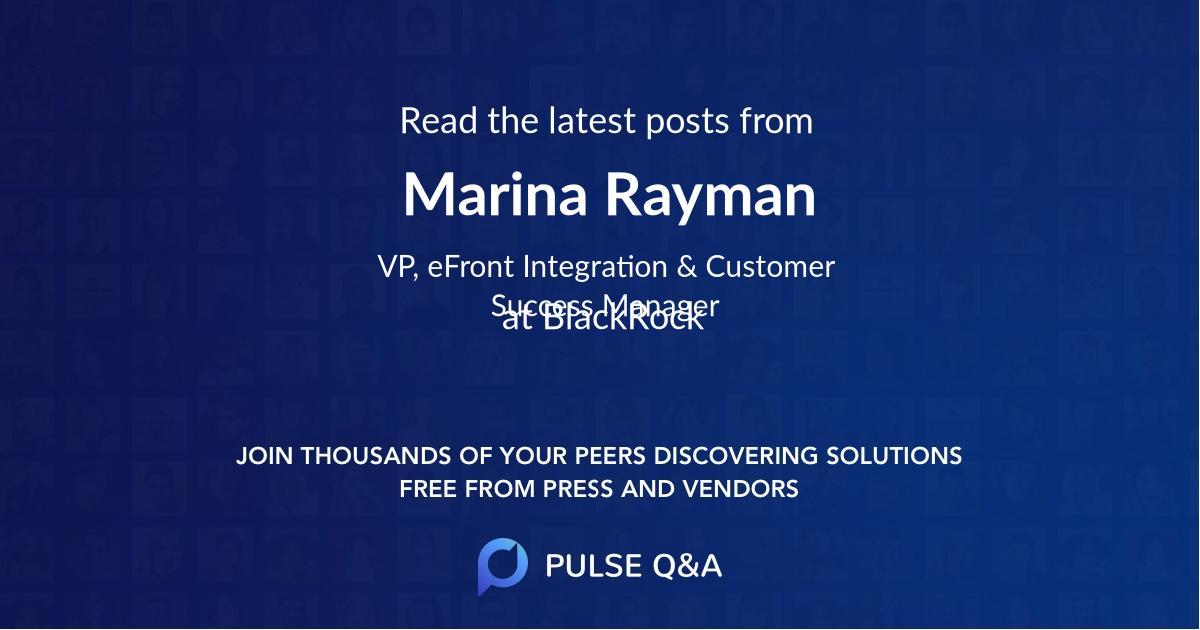 Marina Rayman