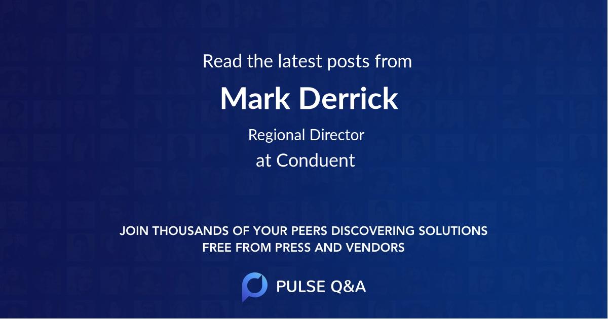 Mark Derrick