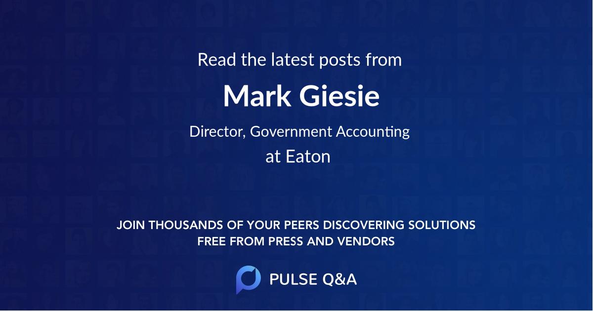 Mark Giesie