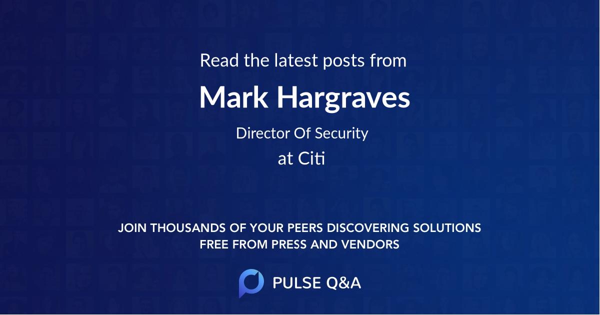 Mark Hargraves