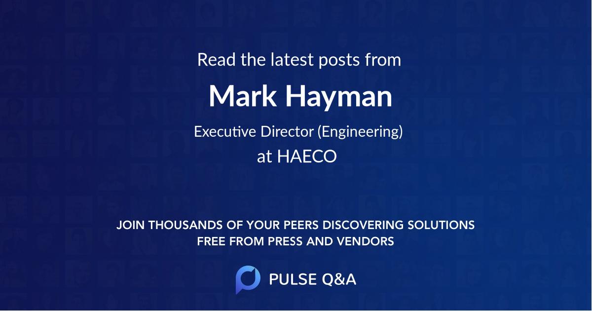 Mark Hayman