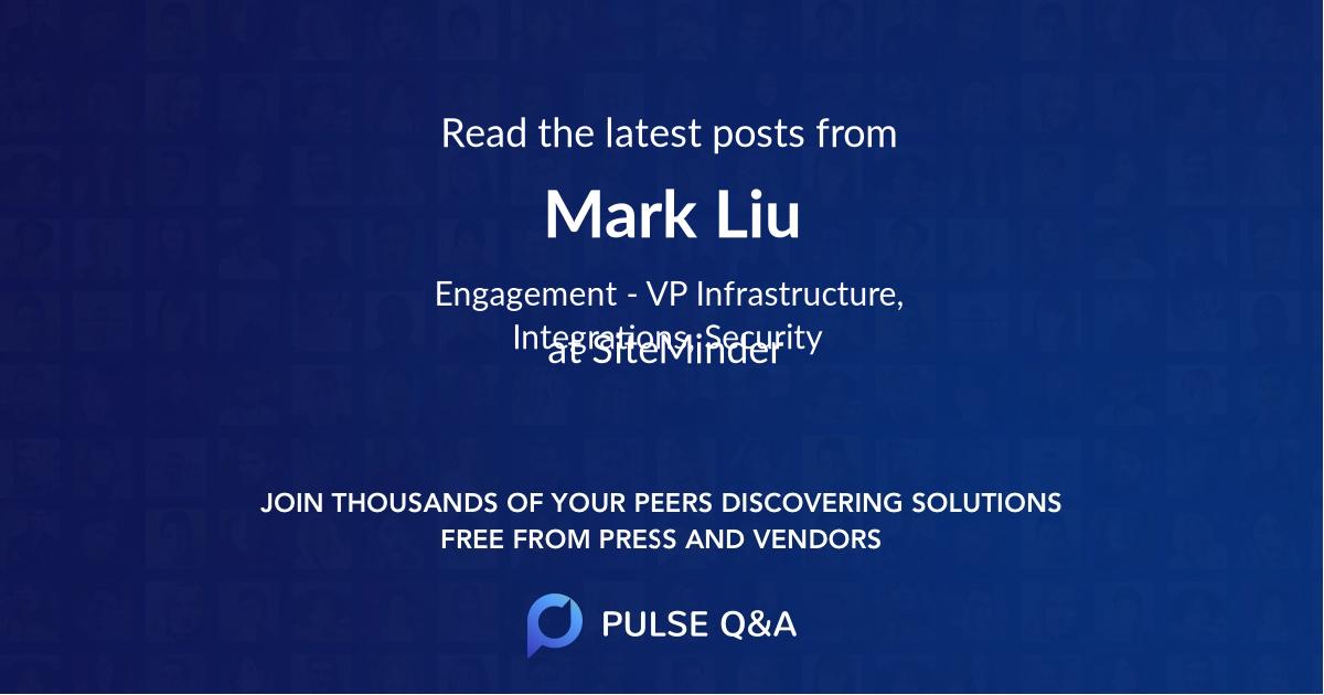 Mark Liu