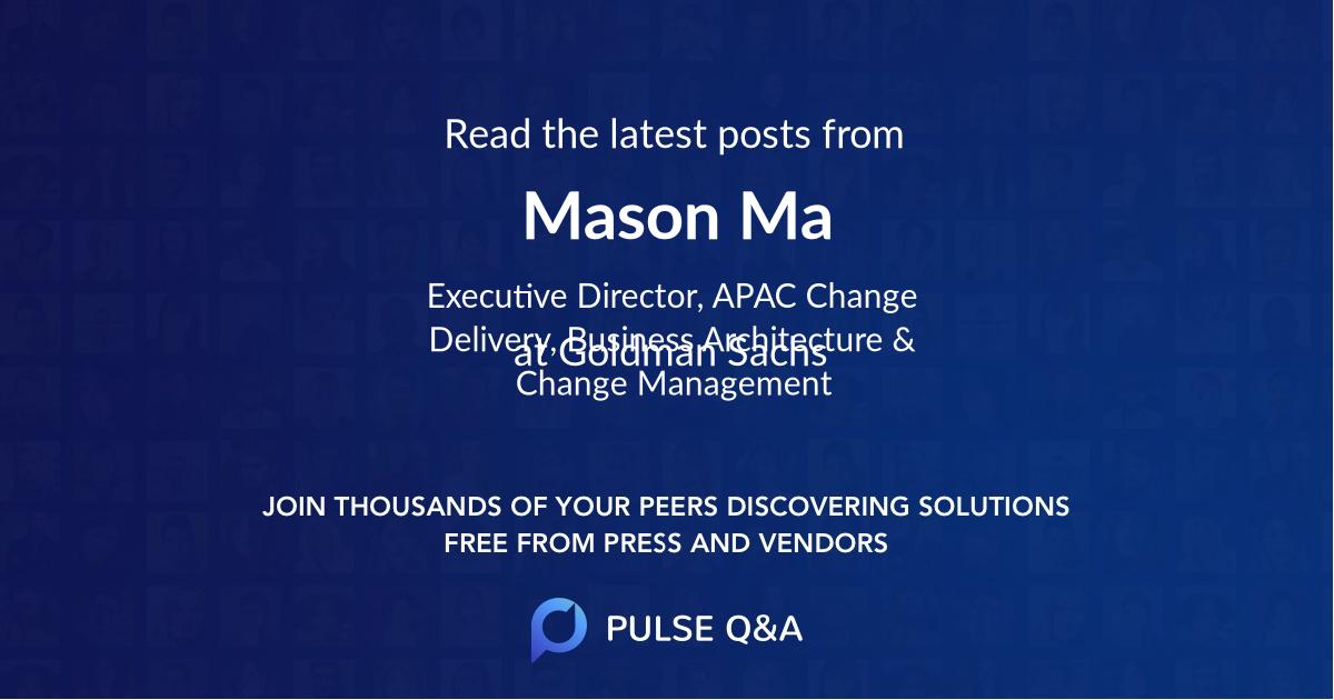Mason Ma