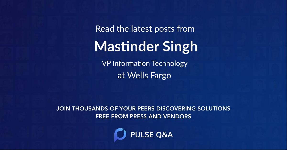 Mastinder Singh
