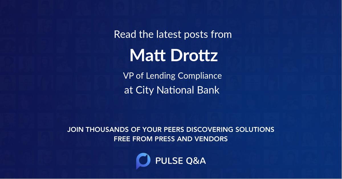 Matt Drottz