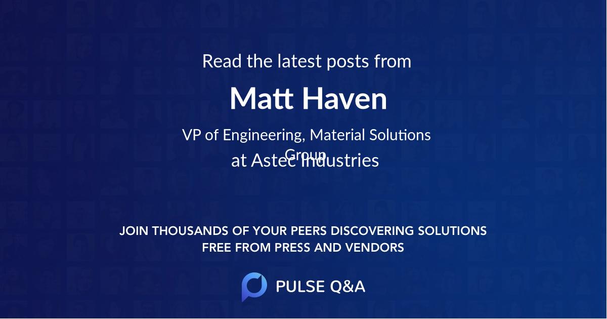 Matt Haven