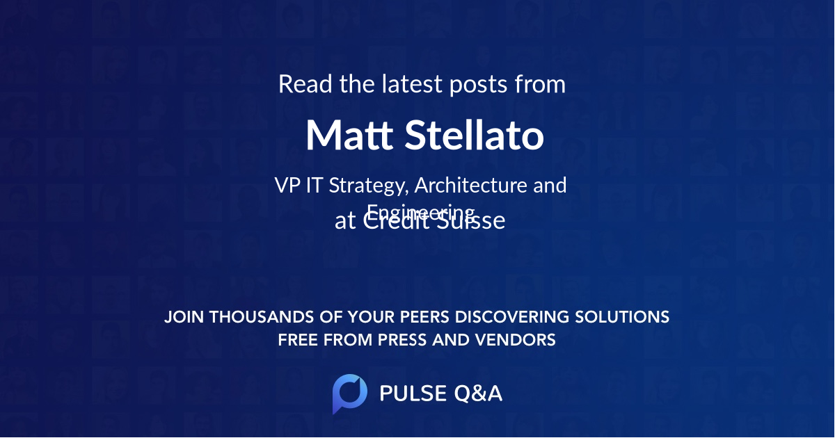Matt Stellato
