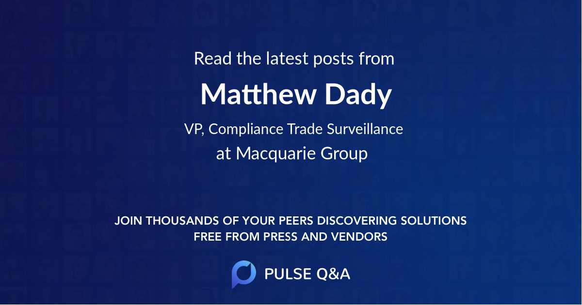 Matthew Dady