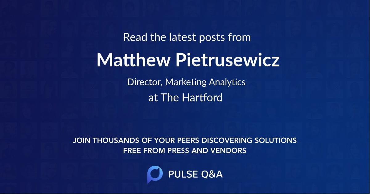 Matthew Pietrusewicz