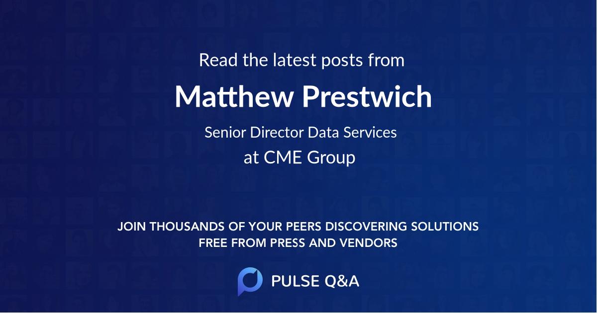 Matthew Prestwich