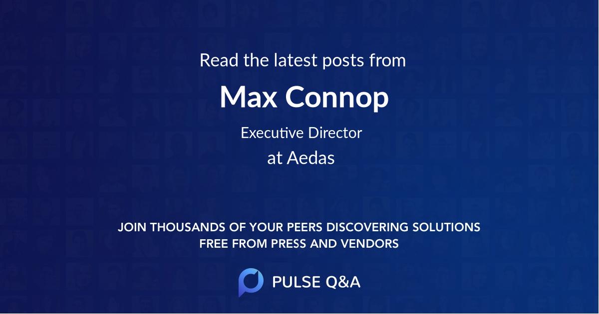 Max Connop