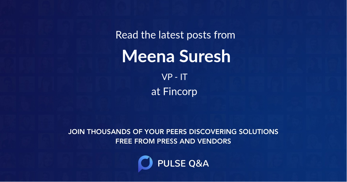 Meena Suresh
