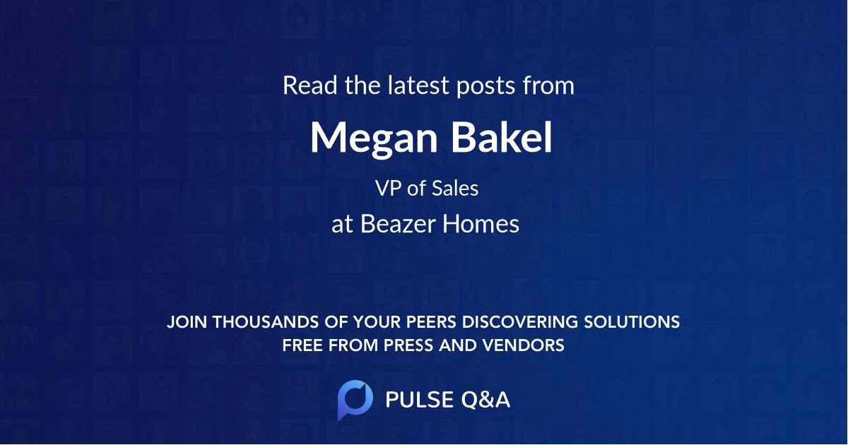 Megan Bakel