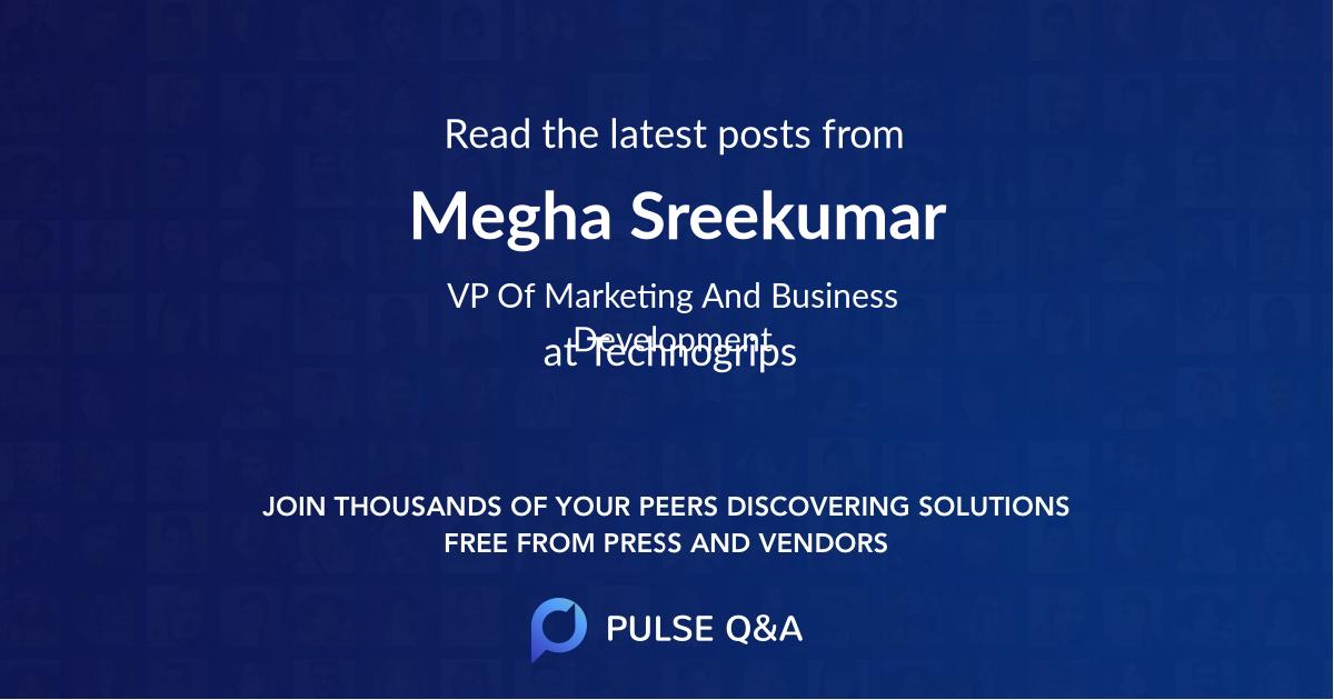 Megha Sreekumar