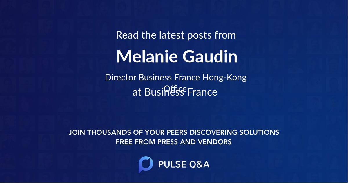Melanie Gaudin