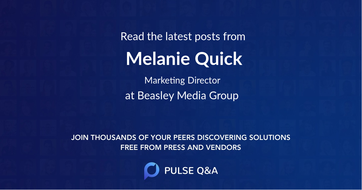 Melanie Quick