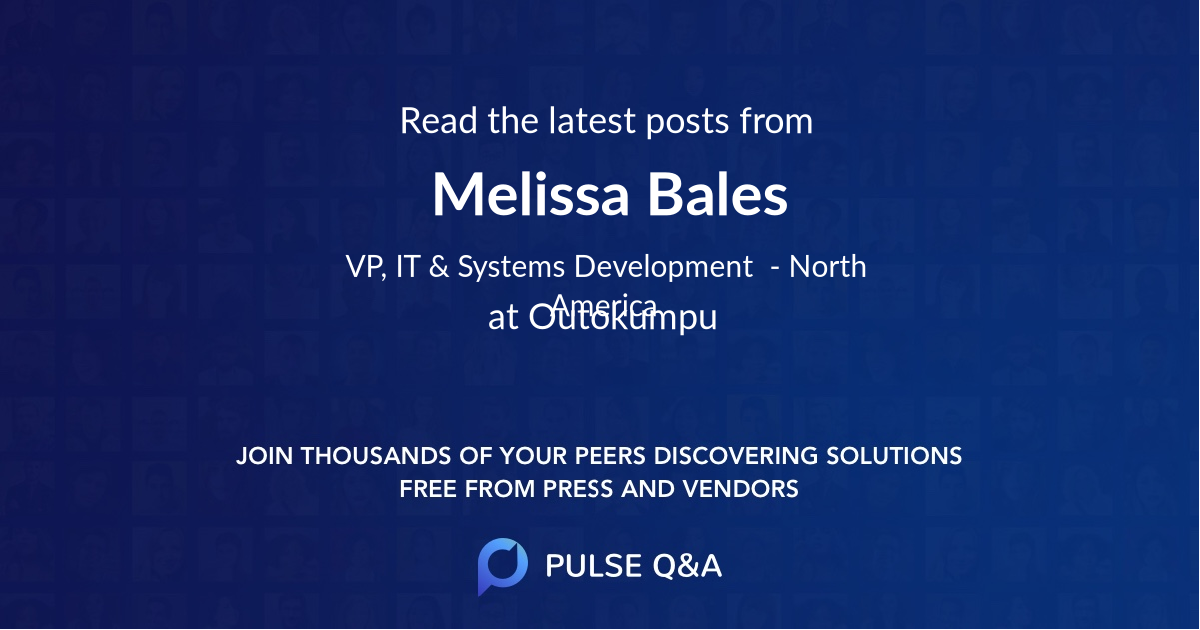 Melissa Bales