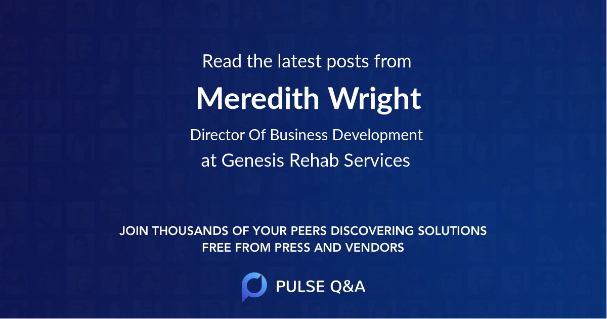 Meredith Wright