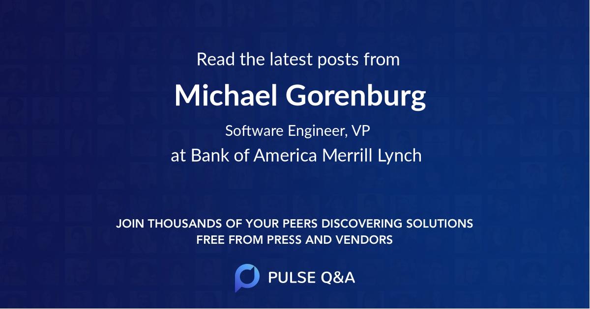 Michael Gorenburg