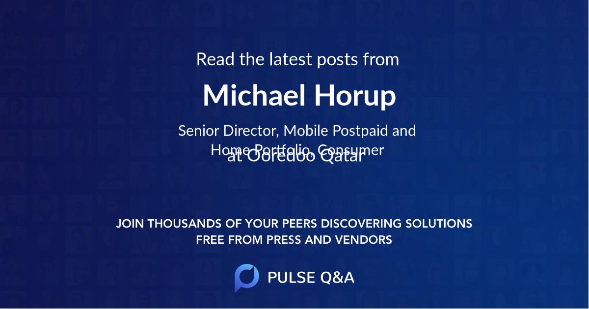 Michael Horup