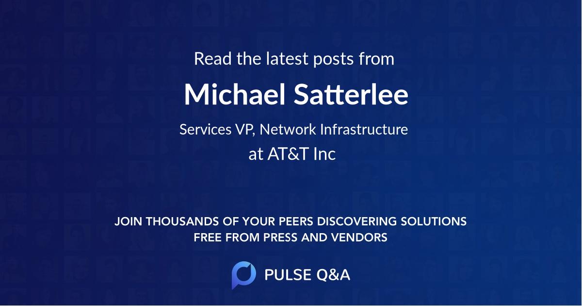Michael Satterlee