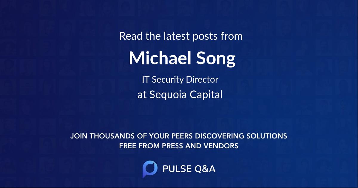 Michael Song