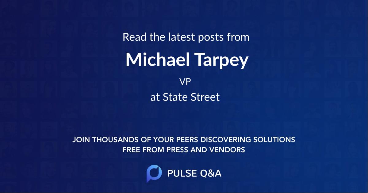 Michael Tarpey