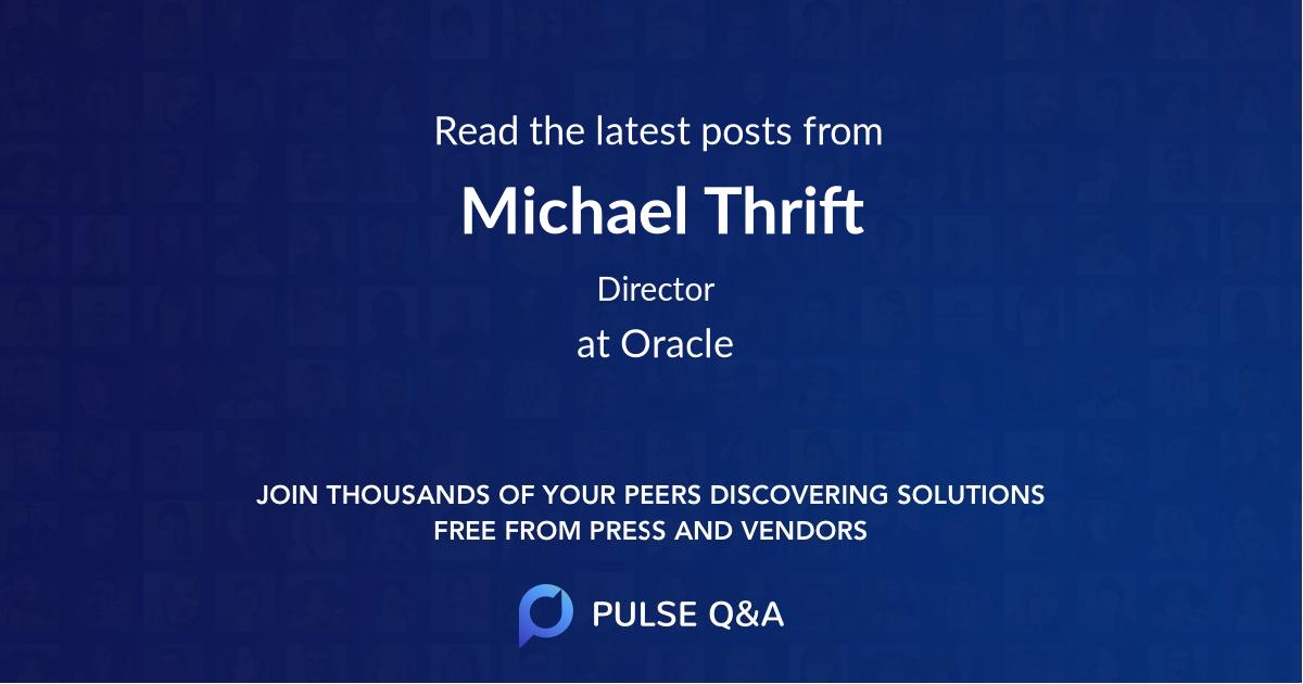 Michael Thrift