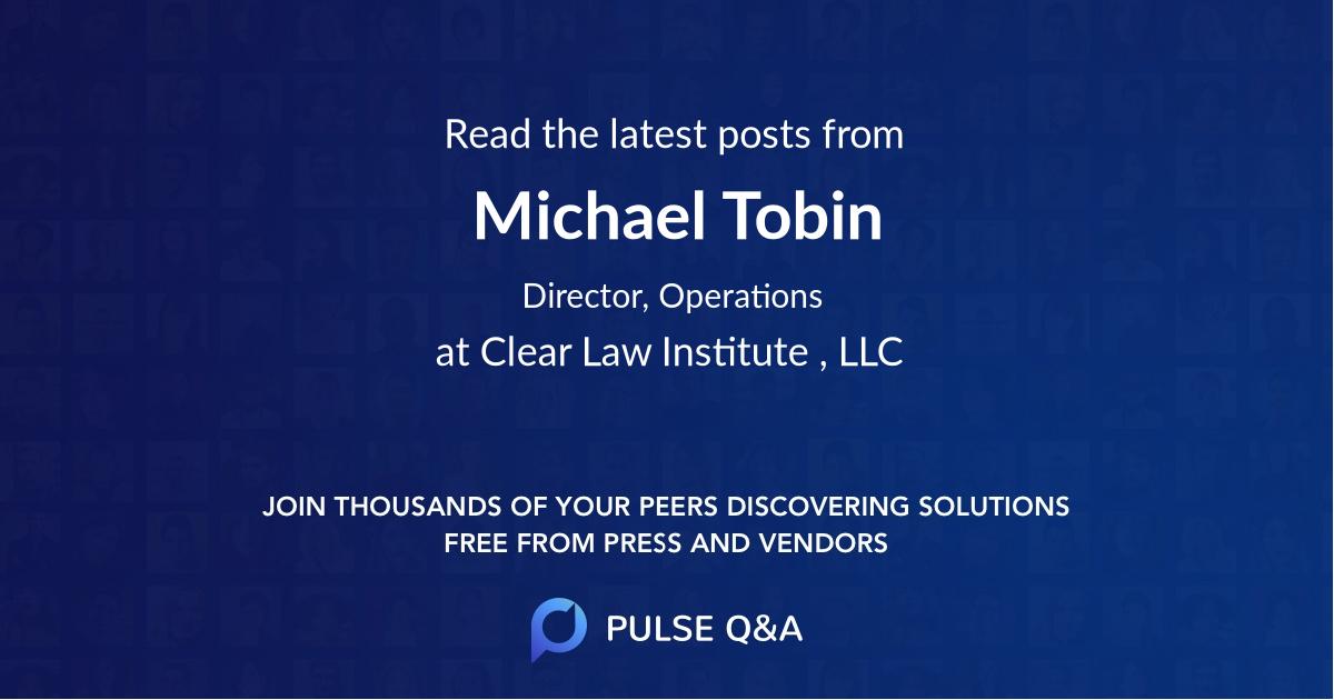 Michael Tobin