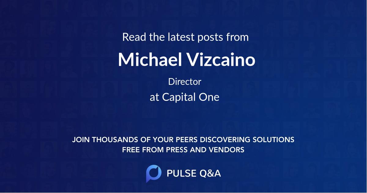 Michael Vizcaino