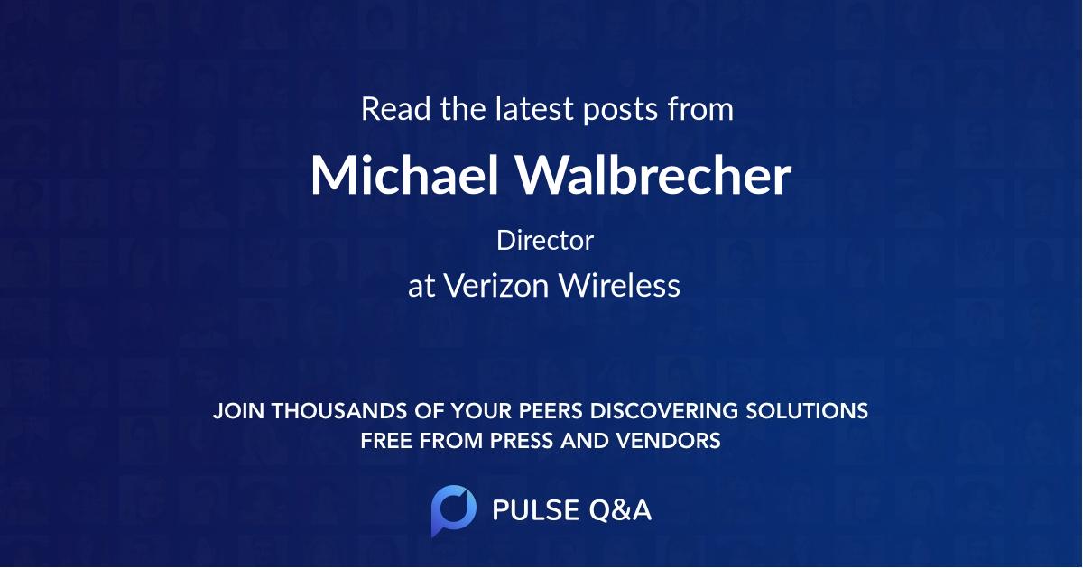 Michael Walbrecher