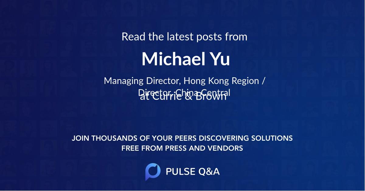 Michael Yu