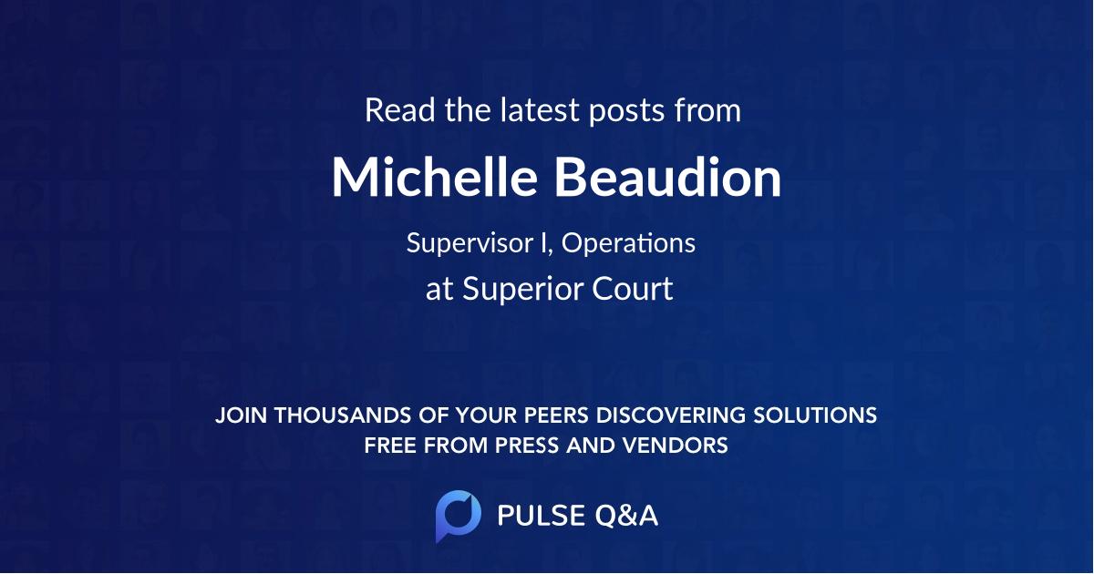 Michelle Beaudion