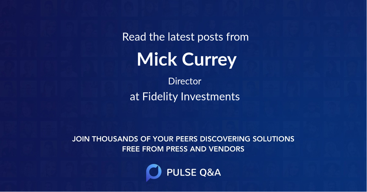 Mick Currey