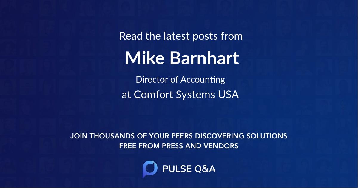 Mike Barnhart