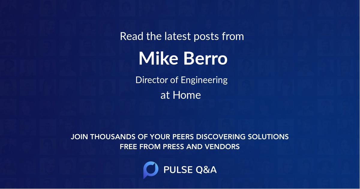 Mike Berro