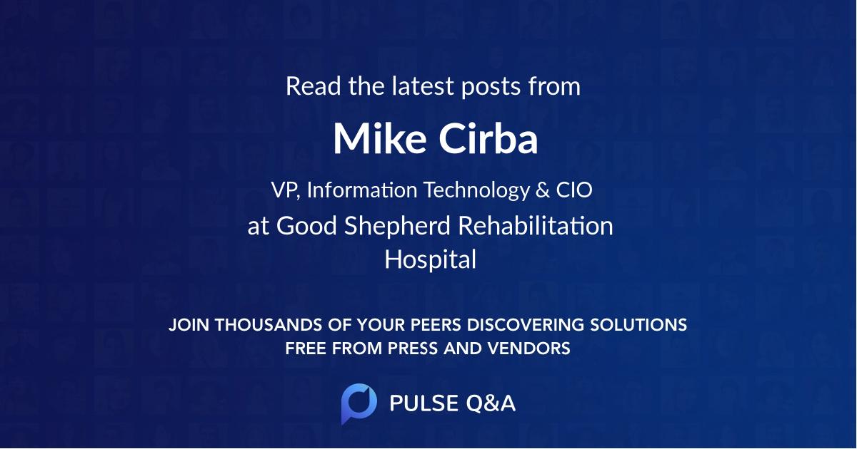 Mike Cirba