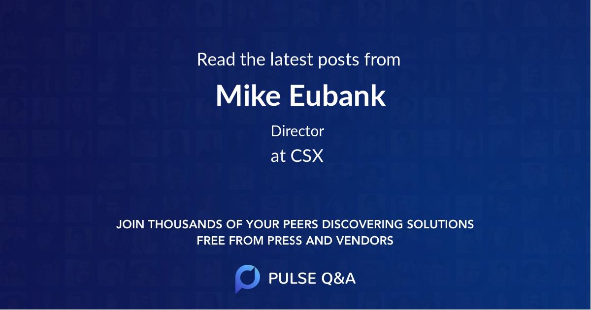 Mike Eubank