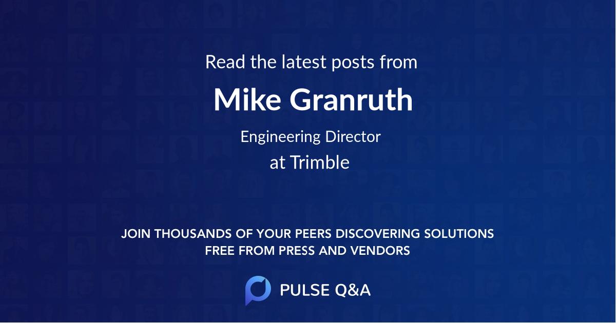 Mike Granruth