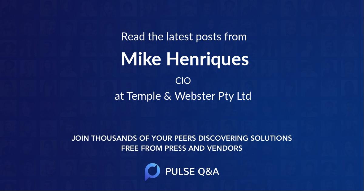 Mike Henriques