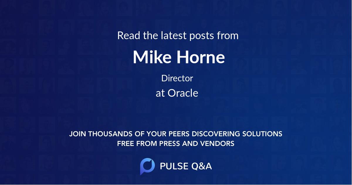 Mike Horne