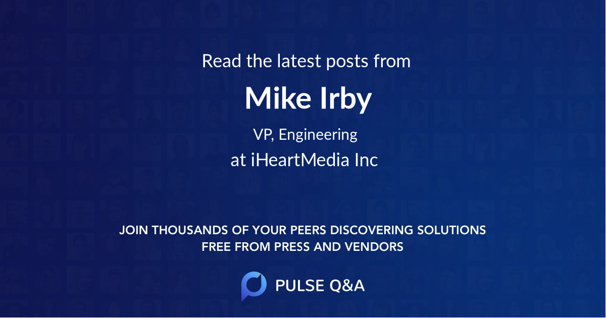 Mike Irby