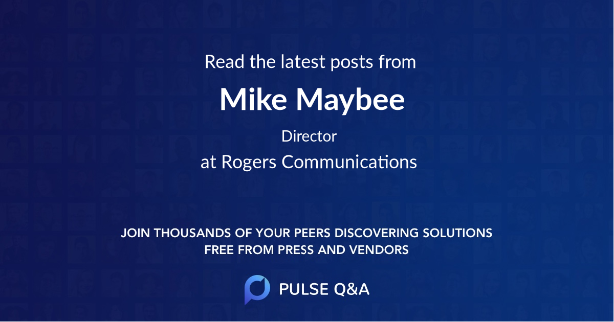 Mike Maybee